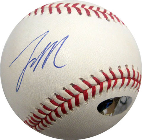 Lastings Milledge Autographed / Signed Baseball (JMI)