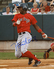 Hanley Ramirez Autographed / Signed Portland Sea Dogs Baseball 8x10 Photo
