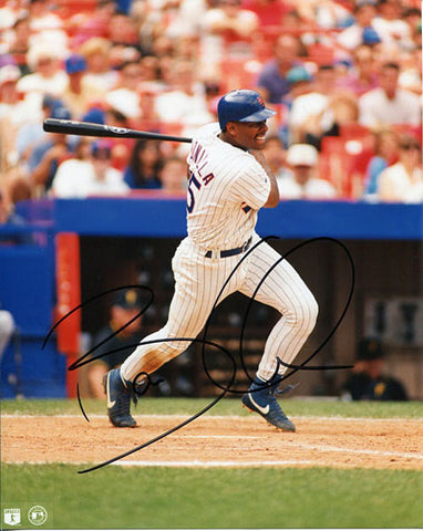 Bobby Bonilla Autographed / Signed New York Mets Swing 8x10 Photo