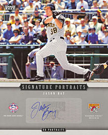 Jason Bay Autographed / Signed Upper Deck 8x10 Card