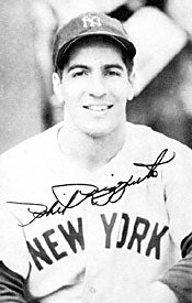 Phil Rizzuto Autographed / Signed Baseball 3x5 Vintage Postcard