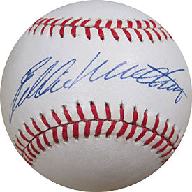 Eddie Mathews Autographed / Signed Baseball