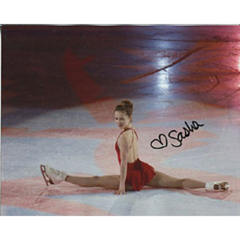 Sasha Cohen Autographed/Signed 8x10 Photo