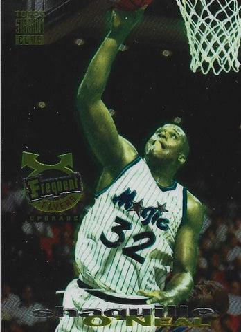 Shaquille O'Neal 1994 Topps Stadium Club Card