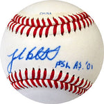 Josh Beckett AS. '01 Autographed / Signed Baseball