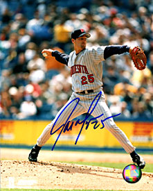 Joe Mays Autographed / Signed Pitching 8x10 Photo