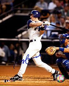 Robby Hammock Autographed / Signed Hitting 8x10 Photo