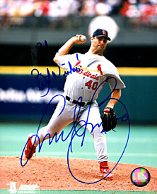 Andy Benes Autographed / Signed 8x10 Photo