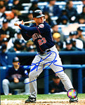 Bobby Kielty Autographed / Signed Hitting 8x10 Photo