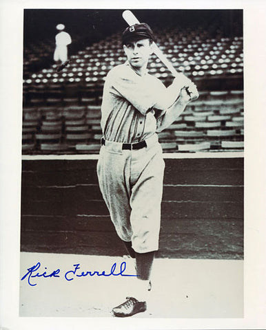 Rick Ferrell Autographed / Signed 8x10 Photo