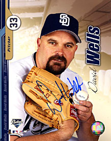 David Wells Autographed / Signed 8x10 Photo