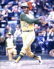 Tommy Davis Autographed / Signed Hitting 8x10 Photo