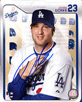 Derek Lowe Autographed / Signed Posing 8x10 Photo