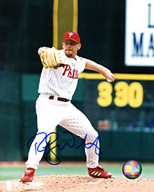 Randy Wolf Autographed / Signed 8x10 Photo
