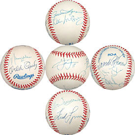 MVP Club Autographed / Signed Baseball
