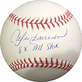 "Andre Dawson ""8 x AS"" Autographed / Signed Baseball"