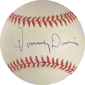 Tommy Davis Autographed / Signed Baseball