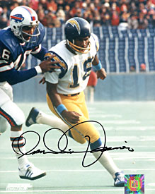 Charlie Joiner Autographed / Signed San Diego Chargers 8x10 Photo