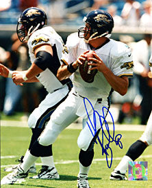 Mark Brunell Autographed / Signed Jacksonville Jaguars 8x10 Photo