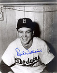 Dick Williams Autographed / Signed Brooklyn Dodgers 8x10 Photo