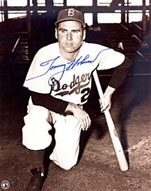 Tommy Holmes Autographed / Signed Brooklyn Dodgers 8x10 Photo