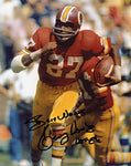 Kenny Houston Autographed / Signed 1986 HOF Washington Red Skins Football 8x10 Photo