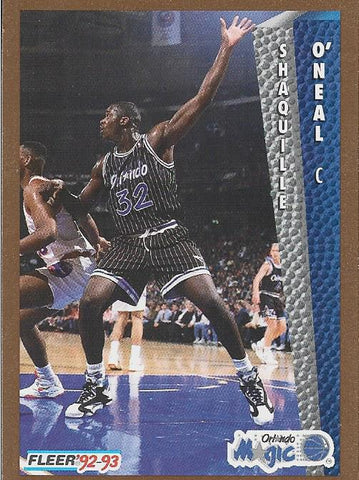 Shaquille O'Neal 1993 Fleer Card