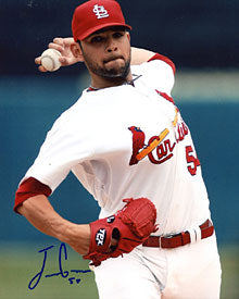 Jaime Garcia Autographed / Signed 8x10 Photo