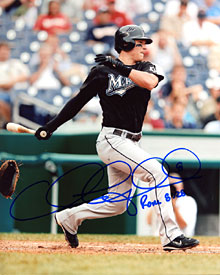 Chris Coghlan Autographed / Signed 8x10 Photo