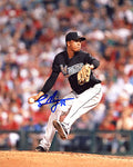 Leo Nunez Autographed / Signed Pitching 8x10 Photo