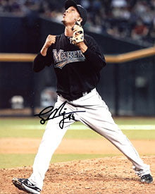 Leo Nunez Autographed / Signed 8x10 Photo
