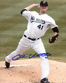 Chris Volstad Autographed / Signed 8x10 Photo