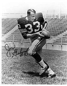 Jim Grabowski Autographed / Signed 8x10 Photo (Black & White)