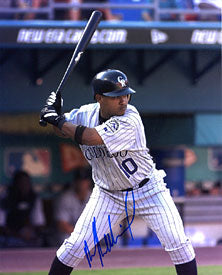 Ronnie Belliard Autographed / Signed 8x10 Photo