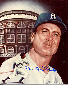 Duke Snider Autographed/Signed 8x10 Photo