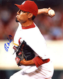 Fernando Salas Autographed / Signed 8x10 Photo