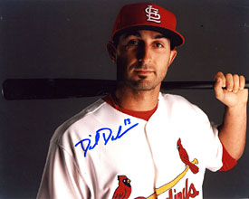 Daniel Descalso Autographed / Signed 8x10 Photo