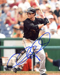 Chris Coghlan Autographed / Signed Hitting 8x10 Photo