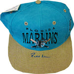 Rob Nenn Autographed / Signed Florida Marlins Hat