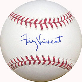 Fay Vincent Autographed / Signed Baseball