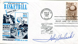 John Havlicek Autographed / Signed First Day Cover