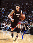 Mike Bibby Autographed / Signed Dribbling 8x10 Photo