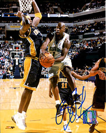 Baron Davis Autographed/Signed 8x10 Photo