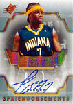Jermaine O'Neal Autographed / Signed 2007-2008 Upper Deck SPX Endorsements Card
