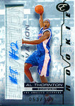 Al Thornton Autographed / Signed 2007-2008 Topps Elevation Card