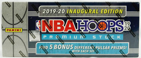 2019-20 Panini Hoops Premium Stock Basketball Box Set