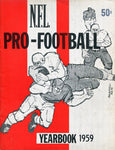 1959 National Football League Unsigned Yearbook