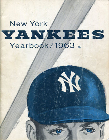 1963 New York Yankees Unsigned Program