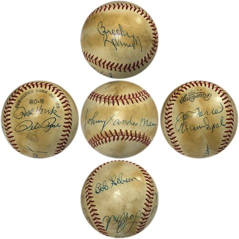 1970 All Star Autographed Baseball