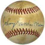 1970 All Star Autographed Baseball Sweet Spot